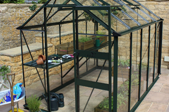 Small Greenhouses Hampshire. Small Aluminium greenhouses delivered across Hampshire