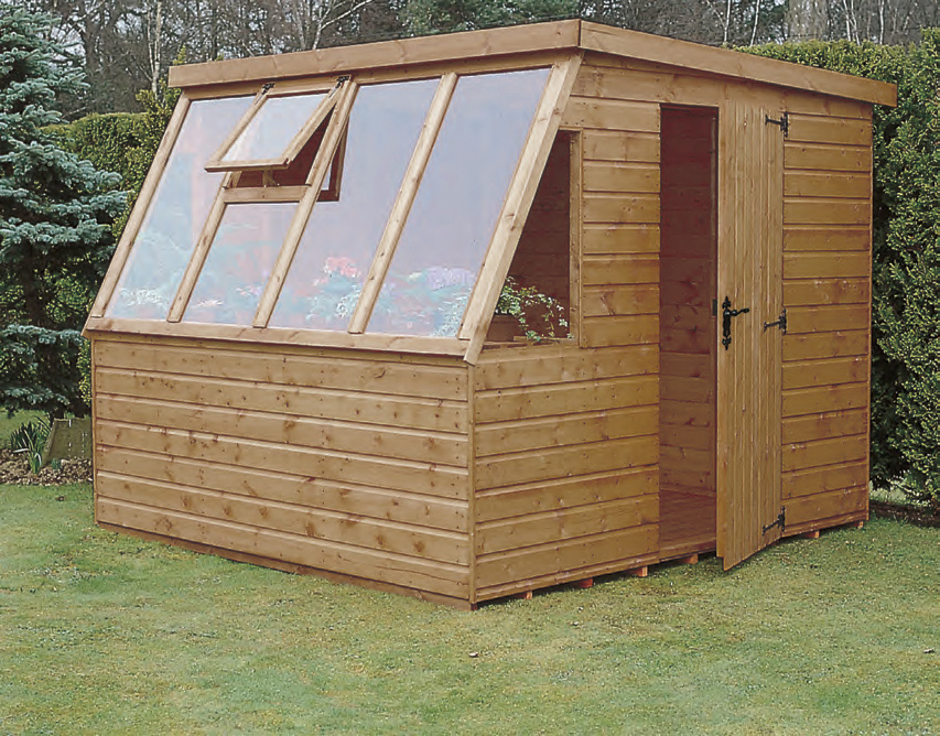 Suntrap Potting Shed Hampshire A Wooden Potting Shed