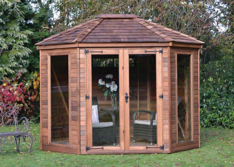 Wingrove Summerhouses Hampshire Wooden Octagonal Style