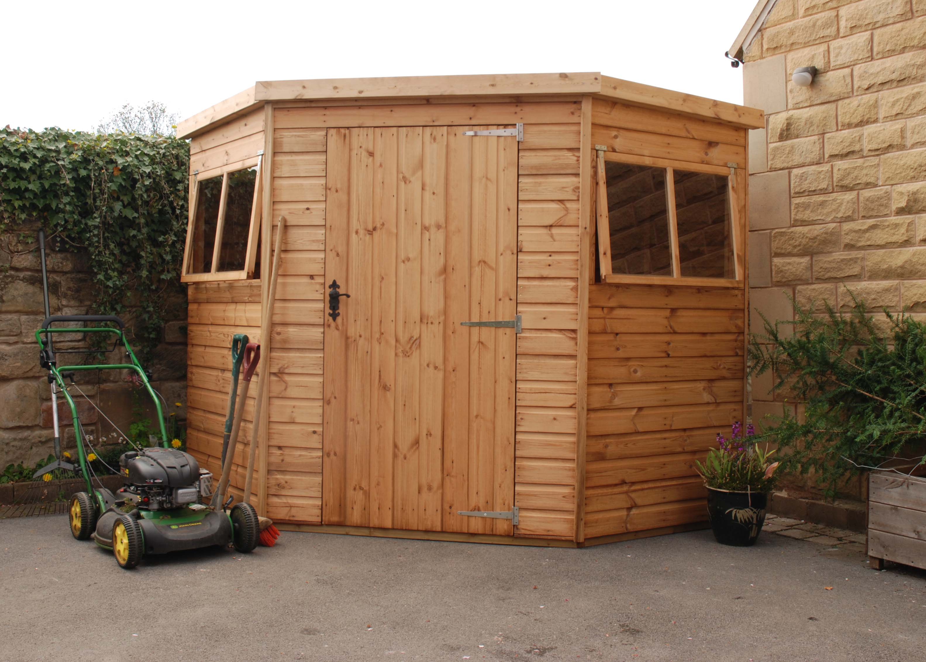 sheds shed backyard roof hip depot